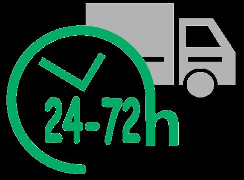 Icono que representa una entrega rápida